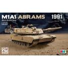 U.S.M1A1 ABRAMS - Guerre du Golfe 1991 (1/35)