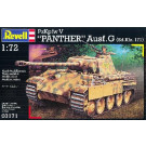 """Maquette de char PzKpfw V """"PANTHER"""" Ausf G 1/72"""
