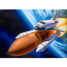 Maquette navette spatiale Discovery avec lanceur 1/144