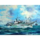 """Maquette de FLOWER CLASS CORVETTE HMS """"BUTTERCUP"""" - 1943 (1/144)"""