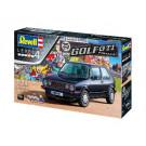 "Maquette de VW GOLF GTI ""PIRELLI"" - ANNIVERSAIRE 35 ANS (1/24)"