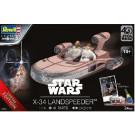 Maquette de X-34 LANDSPEEDER (40 ans STAR WARS)