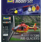 MODEL SET - EC135 AIR-GLACIERS (1/72)