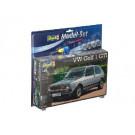 Maquette de VW GOLF 1 GTI 1/24 Model Set