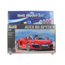 Maquette de Audi R8 Spyder 1/24 Model Set