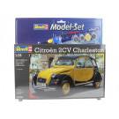 Maquette de Citroen 2CV 1/24 Model Set