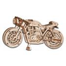 Puzzle mécanique bois Moto Cafe Racer