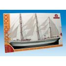 Maquette de bateau Gorch Fock 1/187