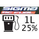 Carburant Sigma Premium 25% 1 Litre