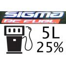 Carburant Sigma Premium 25% 5 Litres