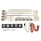 Kit 5 LEDS chromé pour Crawler ou Camion RC