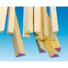 Baguette balsa triangulaire 25x25x1000mm