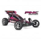 Bandit pink - 4x2 - 1/10 brushed tq 2.4ghz - id Traxxas