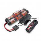Pack chargeur + batterie NIMH 3000 mAh hump Traxxas