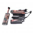 Pack chargeur 12v + alimentation 220v/12v + batterie NIMH 3000mah hump Traxxas
