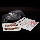 Carrosserie transparente carniac + autocollants