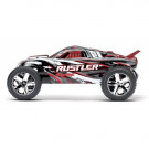 Rustler 4x2 - 1/10 brushed TQ 2.4GHZ Rouge (RTR) Traxxas