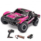 Slash 4x2 Pink Edition Brushed avec Batterie et chargeur 12v Traxxas