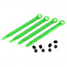 Biellettes moulees nylon et teintees en vert (4)