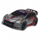 FORD FIESTA ST RALLY - 4X4 - 1/10 BRUSHED (sans accus ni chargeur) Traxxas