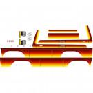 Autocollants pour Ford Bronco Sunset TRX-4 Traxxas