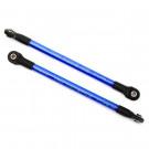 Renfort de chassis aluminium bleu pour E Revo Traxxas (x2)