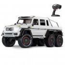 Traxxas TRX-6 Mercedes benz class G 63 AMG 6X6 Blanc
