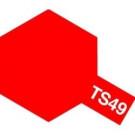 Bombes de peinture Rouge Brillant TS49 Tamiya