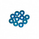 Rondelle cuvette 3mm Bleu (x10)