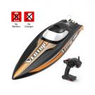 Bateau Volantex vector SR80 brushless RTR ss batterie Noir et orange