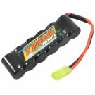 Batterie NIMH 1700MAH 7.2v avec prise mini Tamiya