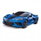 Traxxas 4 TEC 3.0 Corvette Stingray Bleue