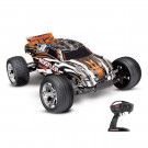 Rustler 4x2 - 1/10 brushed TQ 2.4GHZ Orange (SS AQ/CHA) Traxxas