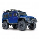 TRX-4 LAND ROVER Defender RTR Traxxas Bleu
