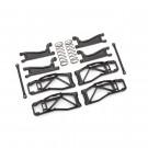 Kit de bras de suspension large noir Widemaxx pour Traxxas Maxx