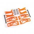 Kit de bras de suspension large orange Widemaxx pour Traxxas Maxx
