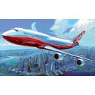 Maquette d'avion Boeing 747-8  1/144